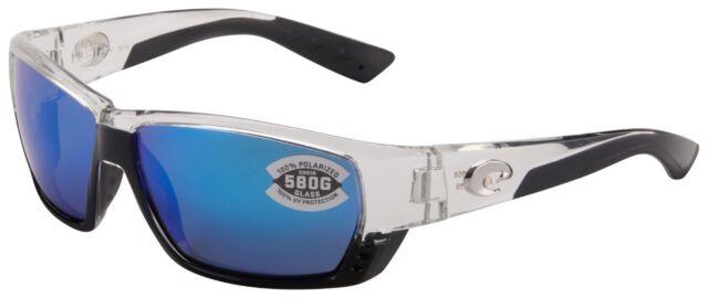 ef01e060c8 Costa Del Mar Tuna Alley Sunglasses TA-39-OBMGLP 580G Crystal Blue Polarized