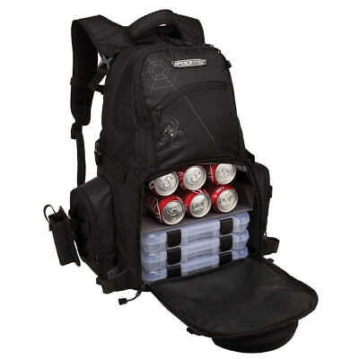 Spiderwire Fishing Tackle Backpack W// 3 Medium Utility Boxes SPB006