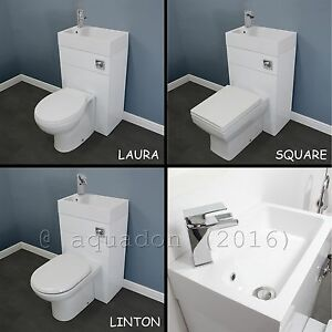Image Is Loading BTW 500mm Bathroom Space Saving WC Toilet Amp