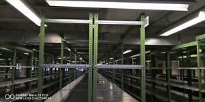 Fachbodenregal GEMAC Normafix Länge 5.250 mm Höhe 2.500 mm x Breite 600 mm