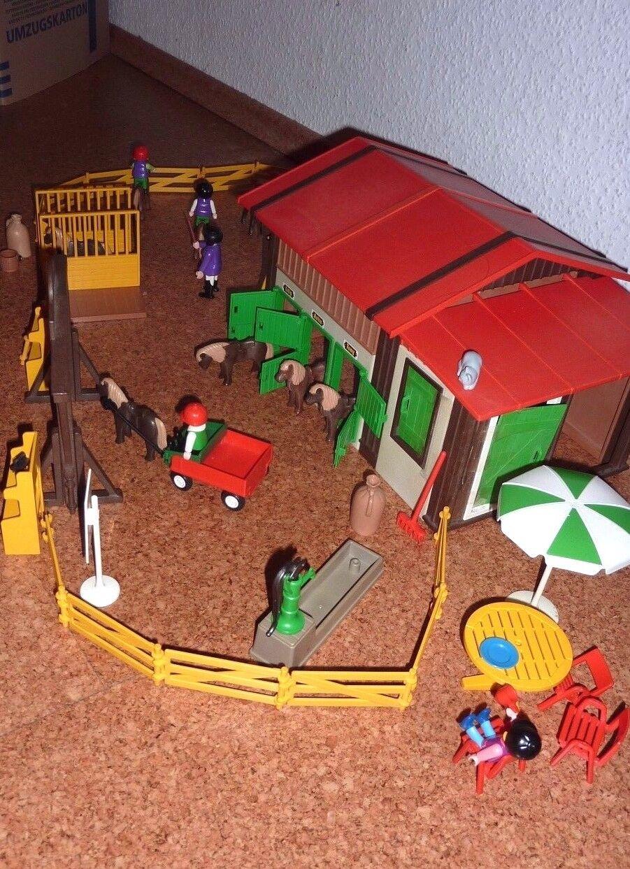 Playmobil Playmobil Playmobil  Pony Ranch  großes Set a53c59