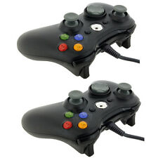 Black Wired USB Game Pad Controller for Microsoft Xbox 360