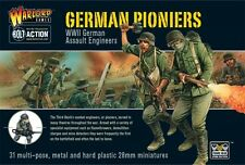 GERMAN PIONEERS - BOLT ACTION - WARLORD GAMES WW2 28mm WARGAMING