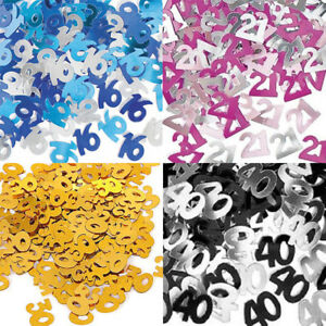 Image Is Loading Digital 50 Happy Birthday Party Table Decoration CONFETTI
