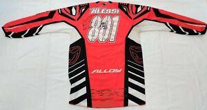 VINTAGE-Jeff-Alessi-801-ALLOY-Supercross-Motocross-Jersey-Thom-Veety-AHRMA