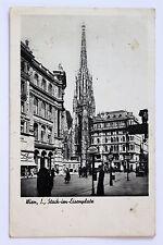 SW Foto AK Vienna I. STOCK-in-posto di ferro 1937