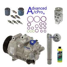 AC A/C Compressor Kit Fits: 2009 - 2014 Volkswagen Tiguan L4 2.0L Turbocharged