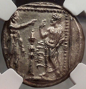 Tarsus-Cilicia-369BC-Silver-Greek-Coin-NGC-Certified-AU-Datames-Satrap-i28602