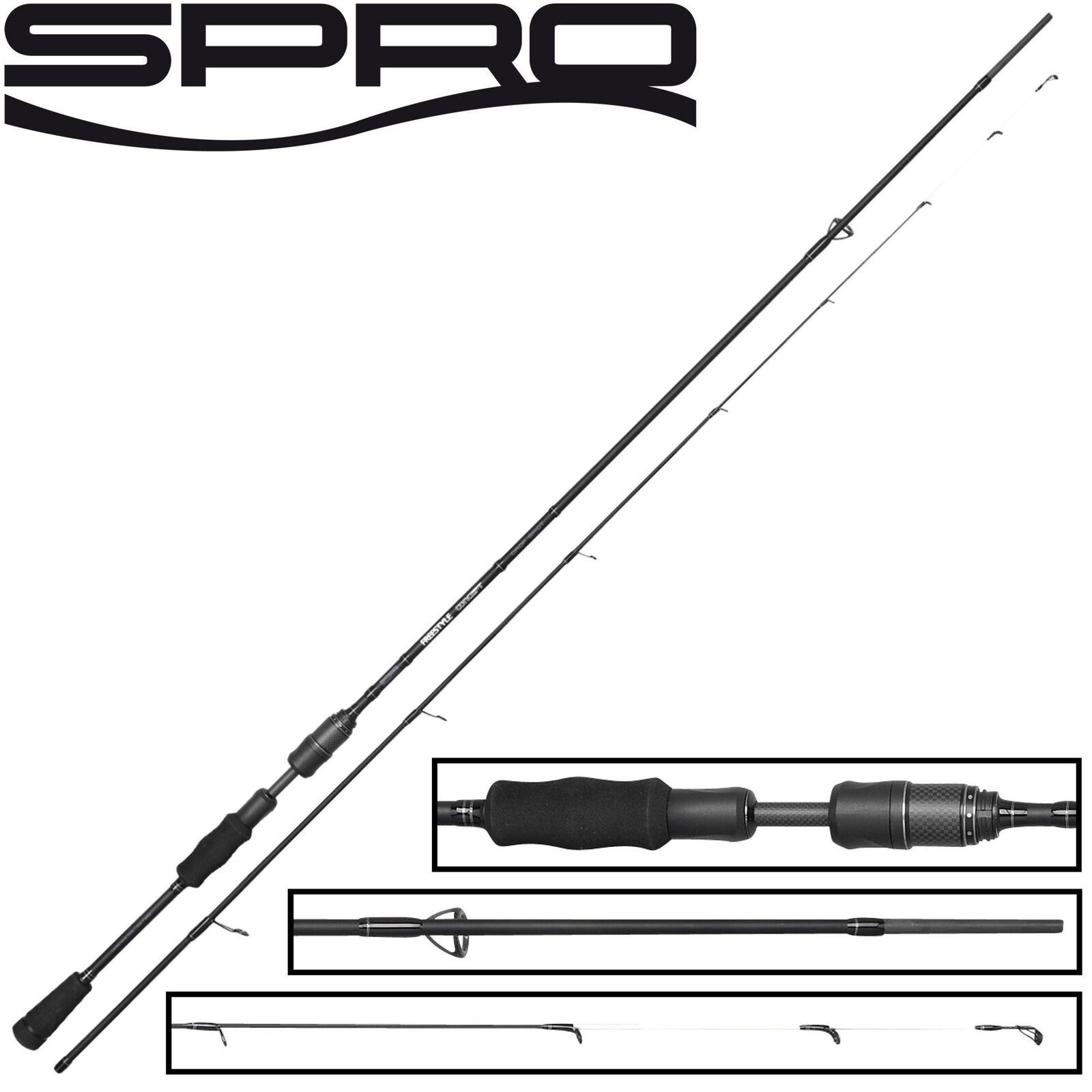 Spro Freestyle Concept Dropshot 2,40m 7-28g - Drop Shot Rute für Barsch & Zander