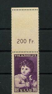 Germany-Saar-Saarland-vintage-yearset-1953-Mi-344-Or-Mint-MNH-1