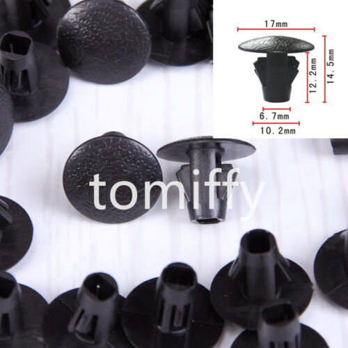 100x Fender Apron Seal Clip Retainer A19123 90467-10107 For 2WD /& 4WD Truck