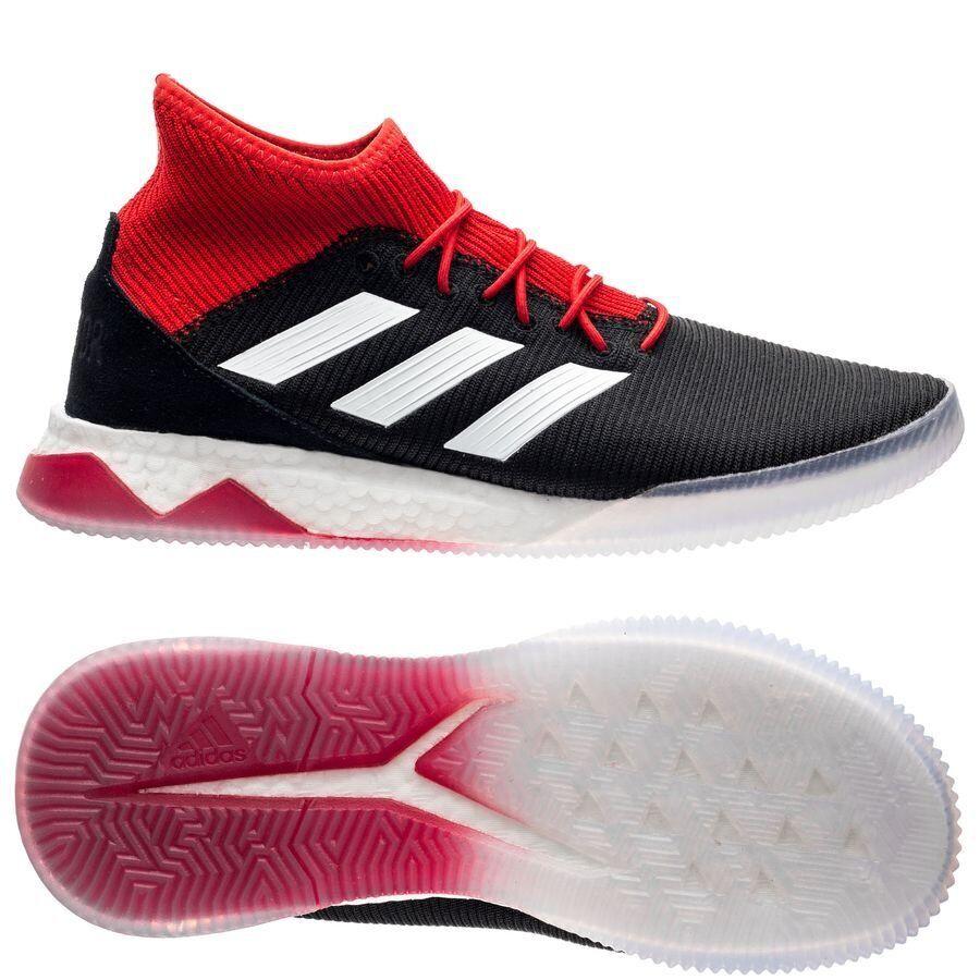 Adidas Projoator Tango 18.1 Negro blancoo Rojo DB2063 entrenadores de fútbol