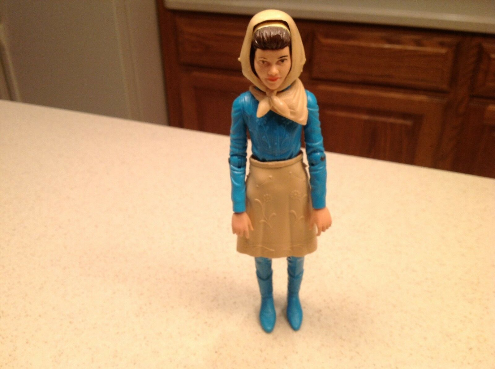 Marx Action Figure Johnny West Series 12 12 12  Tall Vintage Janice 9  Tall W  Access. 02160b