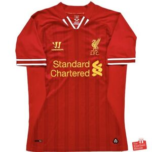Authentic Warrior Liverpool 2013/14 Home Jersey. Size S, Excellent Condition.