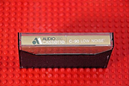 1 NEW AUDIO MAGNETICS   LOW NOISE  60  BLANK CASSETTE TAPE