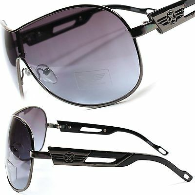 Cool Designer Fashion Large Oversized Fancy Womens Mens Aviator Sunglasses B22B