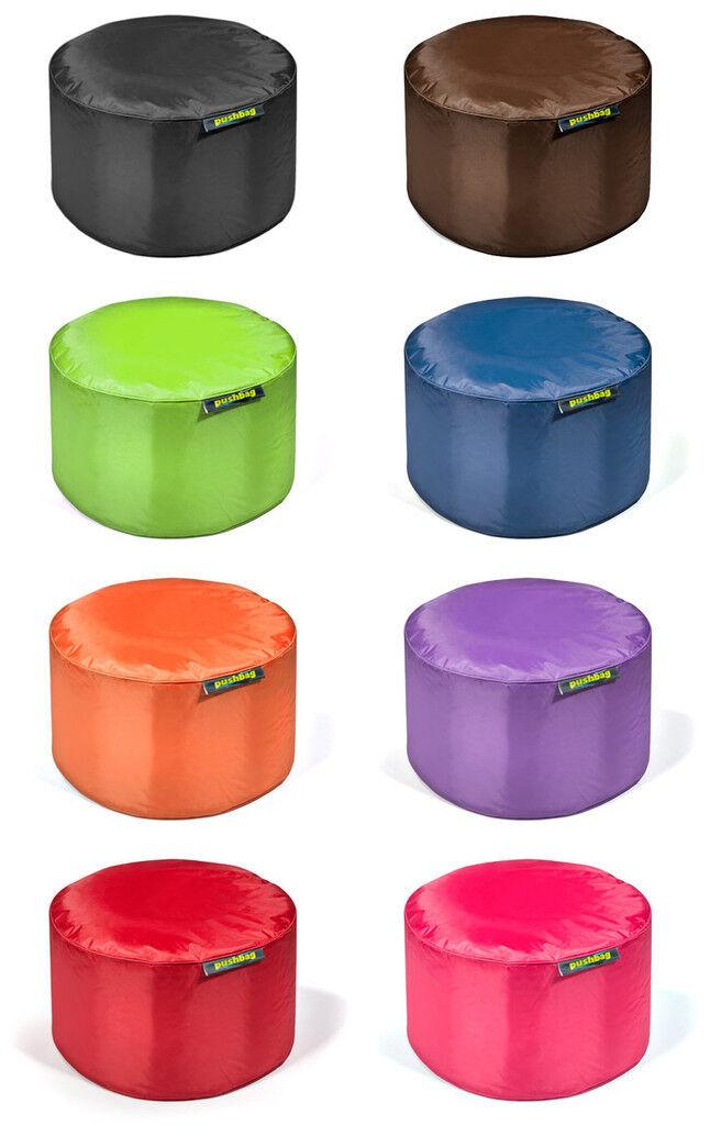 Pushbag Drum Housse de siège tabouret table dans 8 couleurs-remplit DIN en 71 2+3 normes