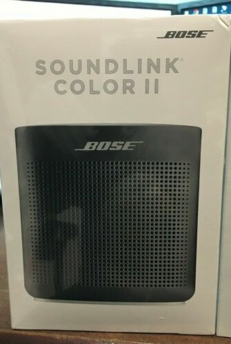 Bose SoundLink Color 2 Bluetooth Wireless Portable Speaker II  black