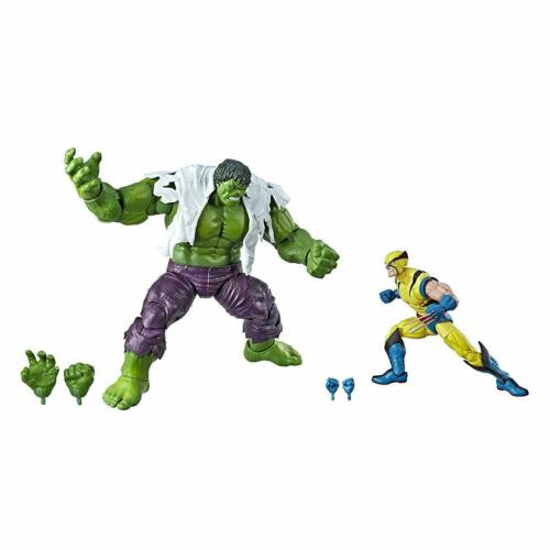 Marvel Legends 80th Anniversary Wolverine and Hulk Action Figures HSE6349
