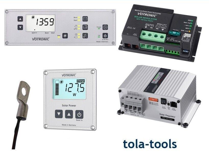 Votronic MPP Laderegler Duo Digital MPP 165 250 350 430 mit Zubehör zur Auswahl