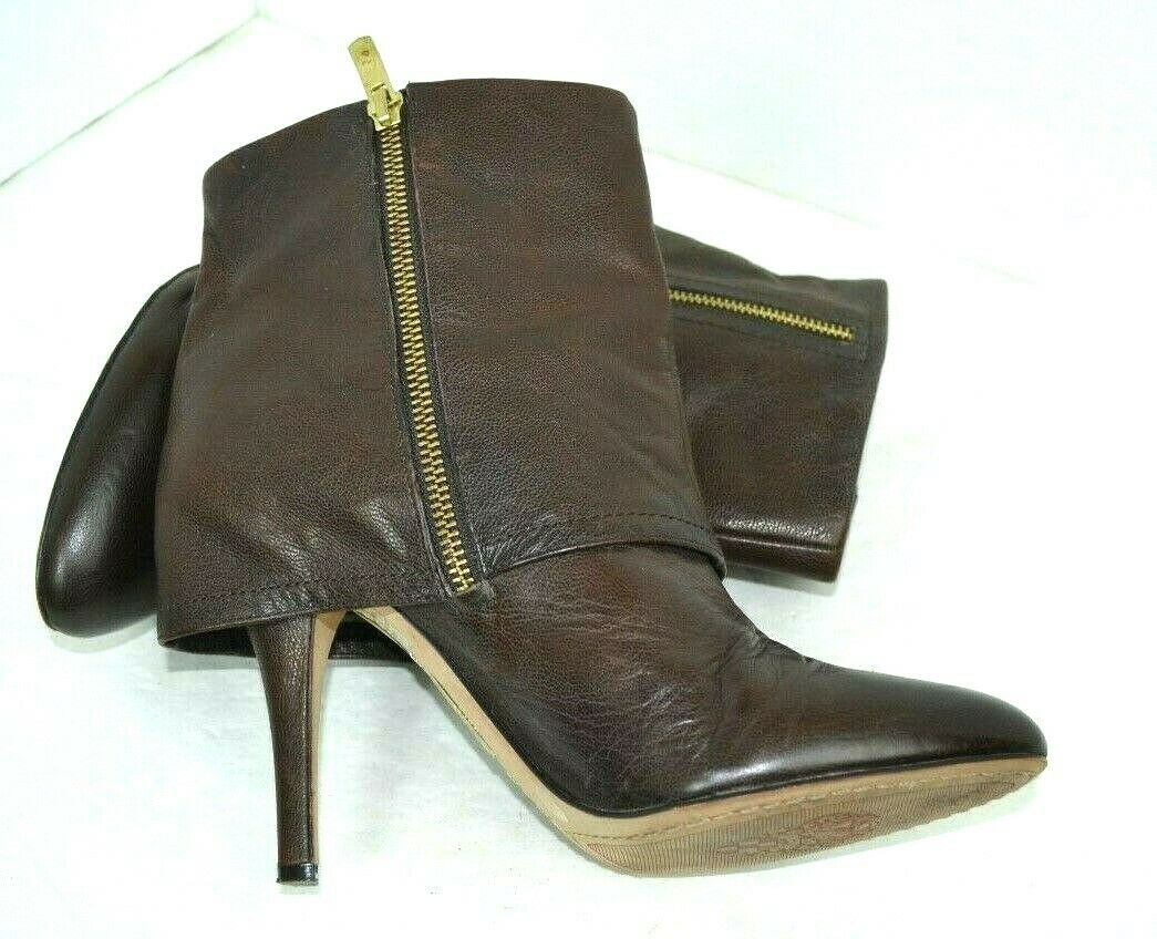 894cb65624f6 ... VINCE CAMUTO BROWN GENUINE GENUINE GENUINE LEATHER BOOTS SIZE 9 - 9.5 B  39.5 54eb42 ...