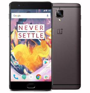 ONEPLUS 3 T A3010 6 Go 64 Go Quad Core 16mp Fingerprint unlock Smartphone Android