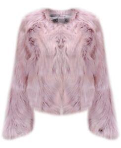Chubby Chevelle Faux Stunning Fur Pink Jacket Bnwt Urbancode t8wX4x