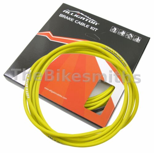 Alligator Pro Road//MTB Brake PTFE Slick Cable/& Housing Kit fit Jagwire Shimano