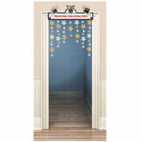 Amscan Hollywood Movie Marquee Door Decoration | 3' x 4' Toys