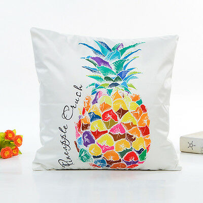 Geometric Pineapple Modern Polyester Cushion Cover Pillow Case Home Sofa Deco