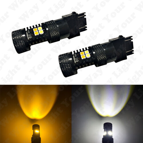6x LED High Low Beam Headlight DRL Switchback Signal Bulbs For 2009-2015 Pilot