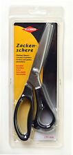 Kleiber IN ACCIAIO INOX PINKING CESOIE FORBICI zig-zag 235 mm 9 pollici-Nero