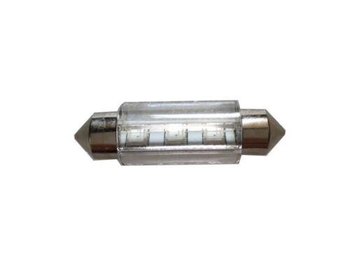 2X Nature White Festoon 38MM 2835 SMD Car Dome LED Bulbs For Door Light 4300K