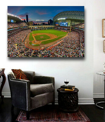 Canvas Print Poster or Ready to Hang Houston Astros Minute Maid Park