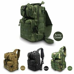 Military-Tactical-Assault-Pack-Sling-Backpack-Army-Molle-Waterproof-EDC-Rucksack