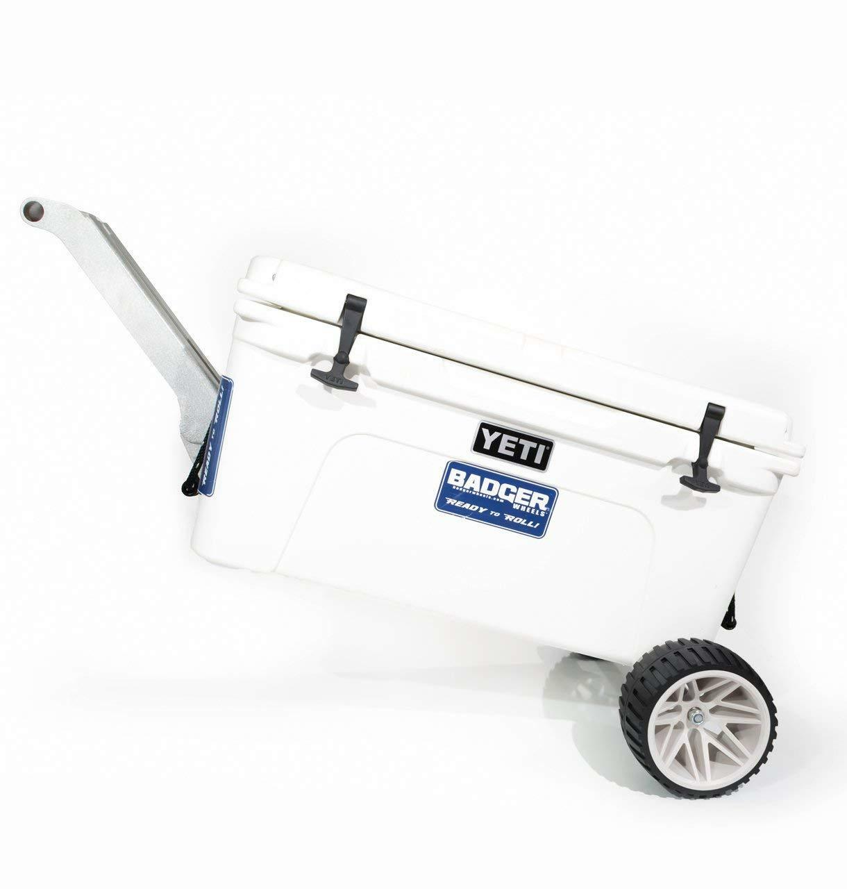 Badger Wheels -Large Single Axle with Rigid Handle   Stand for Yeti Tundra 35-160  online shopping