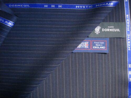 "Dormeuil 95/% laine 3.4 m. 5/% mohair /""mystic mohair/"" drap tissu par dormeuil"