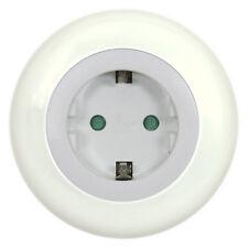 Ranex LED Nachtlicht 6000.618 mit Dämmerungssensor, inkl. Steckdose, 4300K weiß