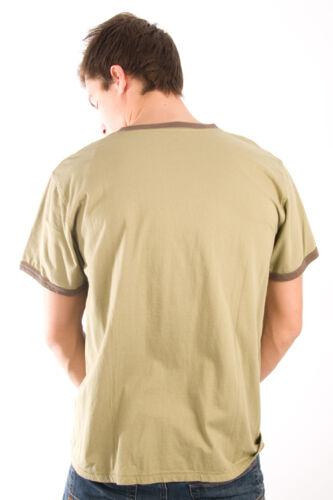 Life is Good Olive Green Clover Mens Sleep 4 Leaf Pajama T-Shirt PJ Tee Top NWT