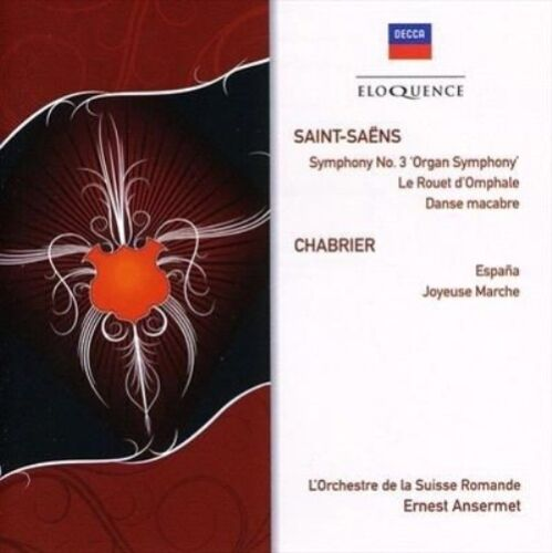 1 of 1 - Saint-Saens: Sym No 3 (Organ)/Le Rouet d'Omphale (CD, May-2009, Eloquence...