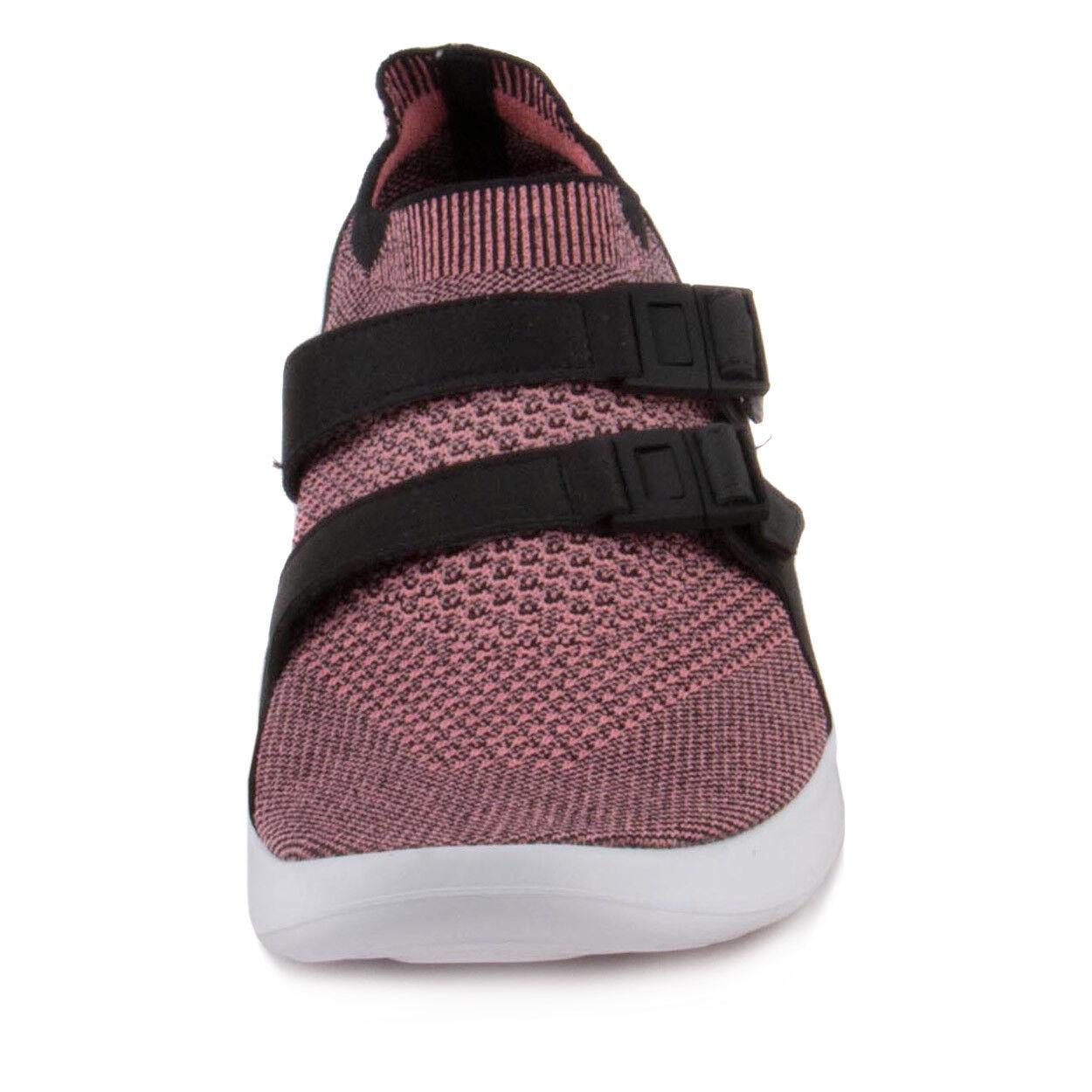 Nike Mens Air Sockracer Flyknit Black Melon Melon Melon 898022-003 16b254