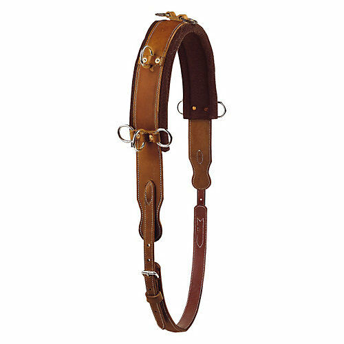 Tory Leather Tory Harness Leather 8-Ring Training Surcingle