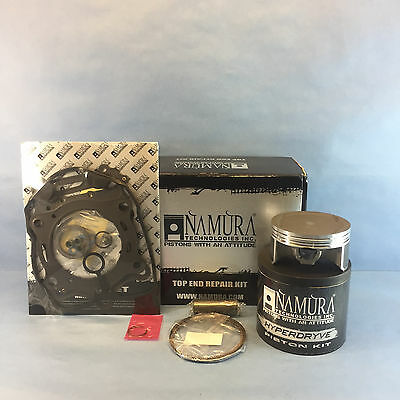 SUZUKI KING QUAD LT-A700X 4X4 NAMURA TOP END PISTON KIT 101.96MM 2005-2007