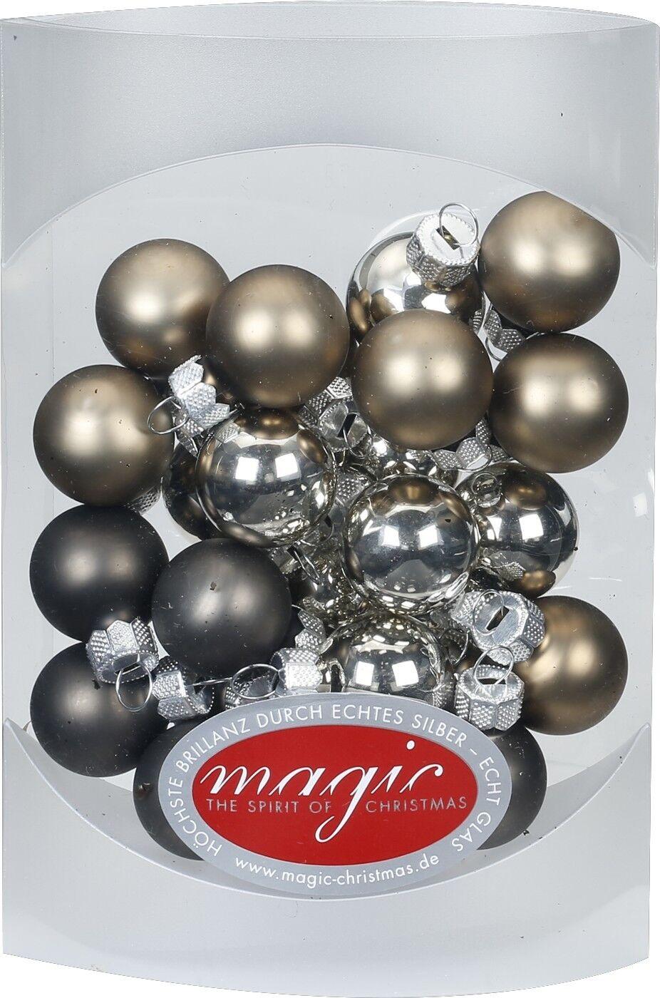 Christbaumkugeln Glas Bunt.Yolochnye Ukrasheniya 25 Christbaumkugeln Glas 2cm Spiegelbeeren Weihnachtskugeln Bunt Farbmix Mini