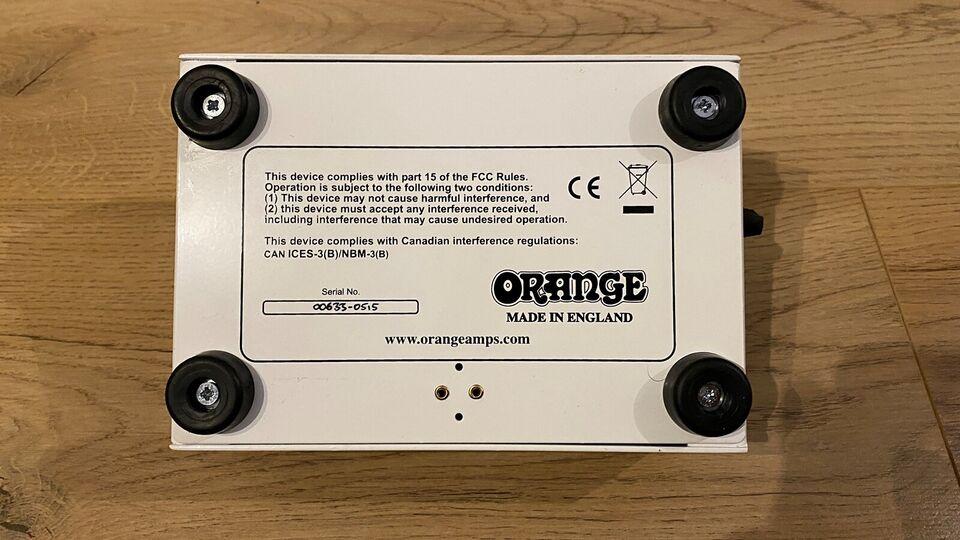 Forvrænger pedal, Andet mærke Orange Bax Bangeetar