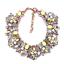 Women-Fashion-Bib-Choker-Chunk-Crystal-Statement-Necklace-Wedding-Jewelry-Set thumbnail 85