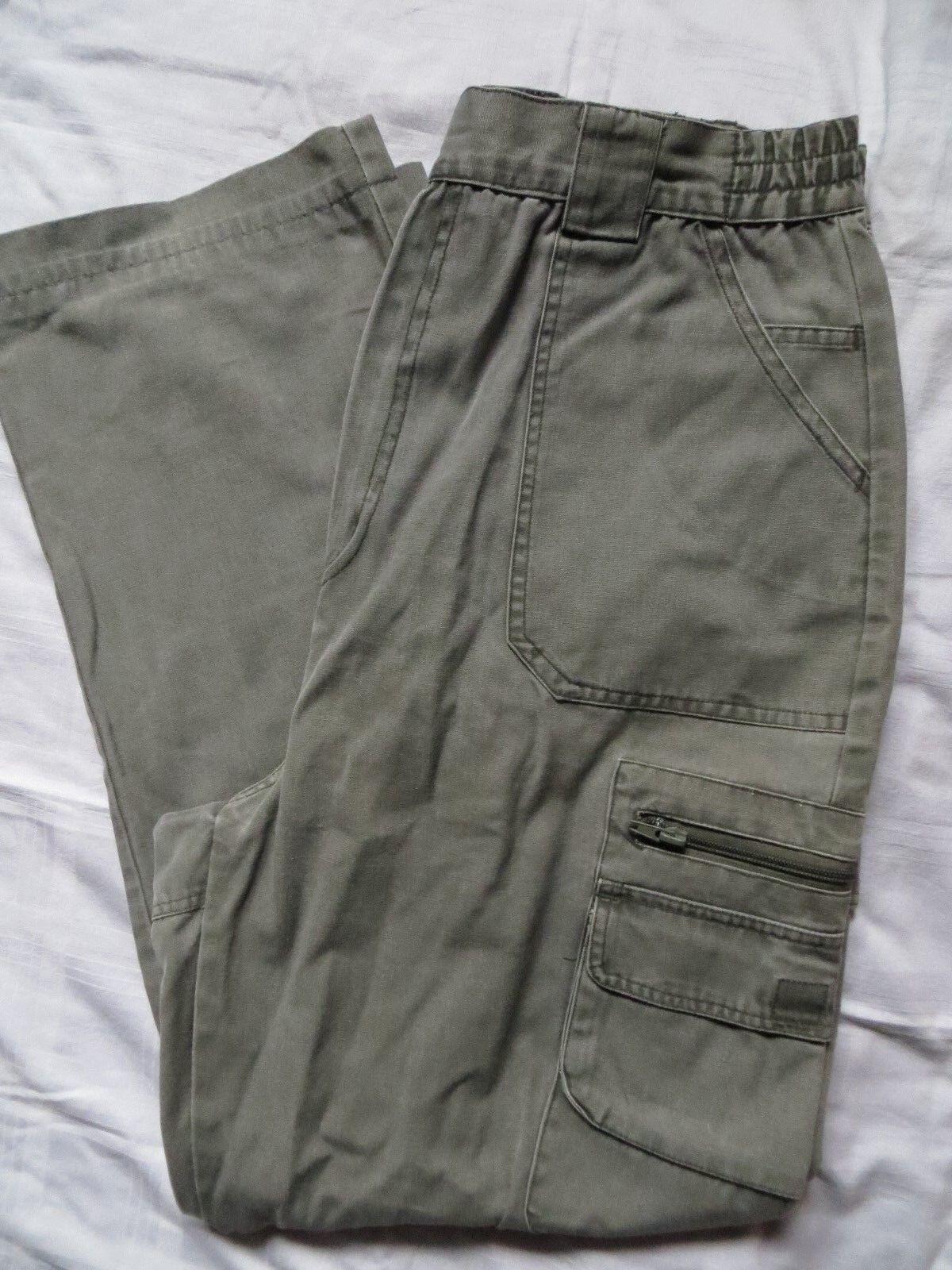 Jenzi Outdoor Hose Country Style   Fb. khaki graugrün Gr. ca. 32 32    Großhandel