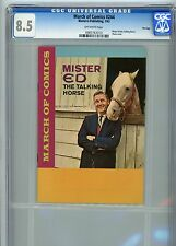"""March of Comics #244  Mister Ed """"The Talking Horse""""  CGC 8.5  """"File Copy"""""""