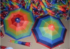 Regenschirm Hut Mütze Kopfschirm Mütze Kopfbedeckung Sonnenschirm 55cm M11123