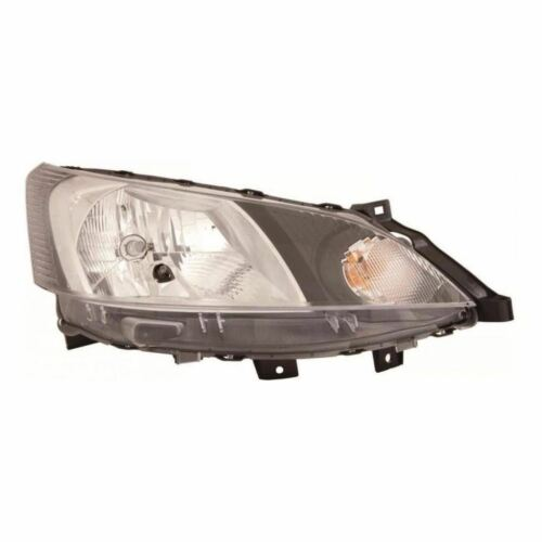 To Fit Nissan NV200 Van 2009-/> Halogen Headlight Headlamp Drivers Side O//S